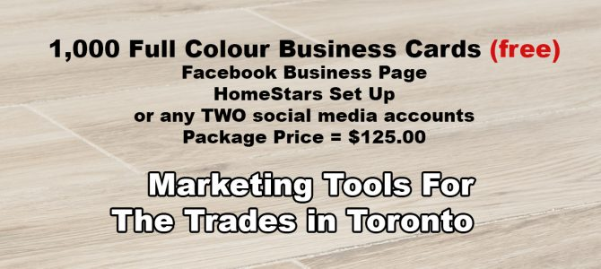 Full Colour Paper Business Cards Toronto
